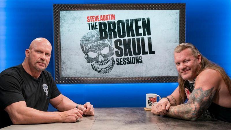 Stone Cold Steve Austin and Chris Jericho