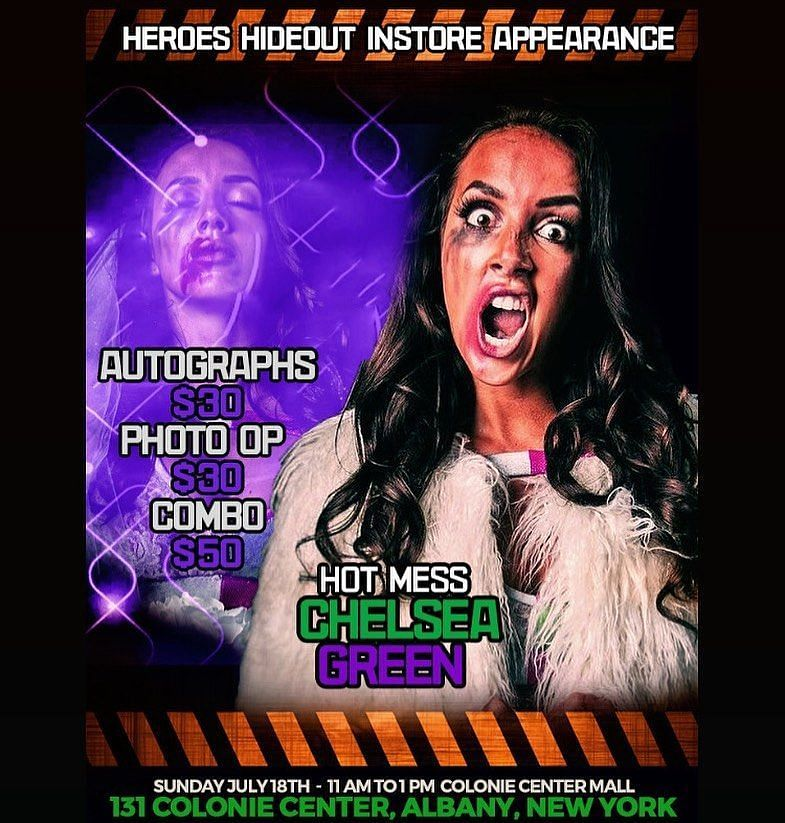 Chelsea Green at Heroes Hideout