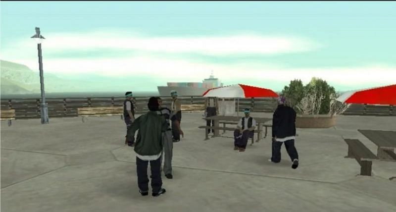 GTA San Andreas is infamous for lacking in backstory (Image via GTA Wiki)