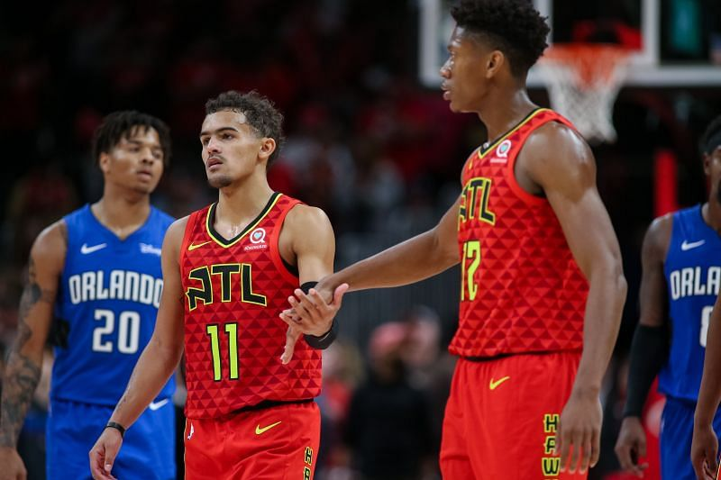 Trae Young and De
