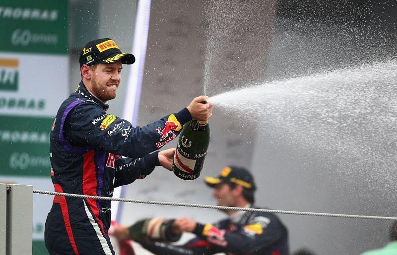 Sebastian Vettel was unbeatable in 2013. Photo: Clive Mason/Getty Images.