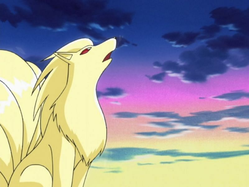 Ninetales in the anime (Image via The Pokemon Company)
