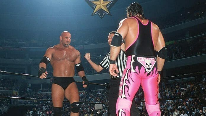 Goldberg and Bret Hart were two of WCW