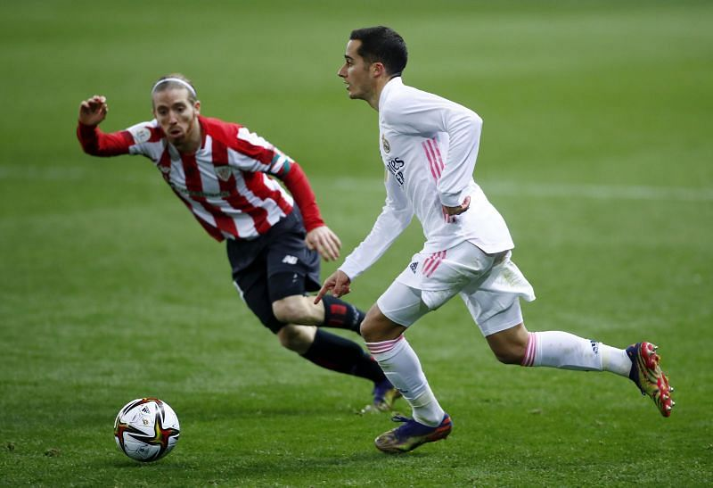 Lucas Vazquez in action for Real Madrid