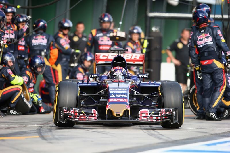 Max Verstappen made his F1 debut in 2015. Photo: Mark Thompson/Getty Images.
