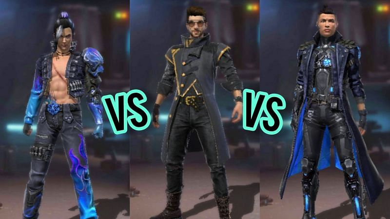 Comparing the abilities of Chrono, DJ Alok, and Elite Hayato for the Factory Challenge