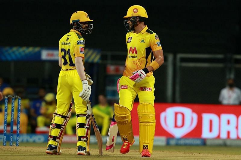 The CSK openers piled on the misery for KKR with a massive opening stand.