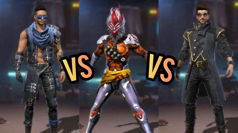 Comparing the abilities of DJ Alok, Wukong, and Maro to see who is better for the Clash Squad mode