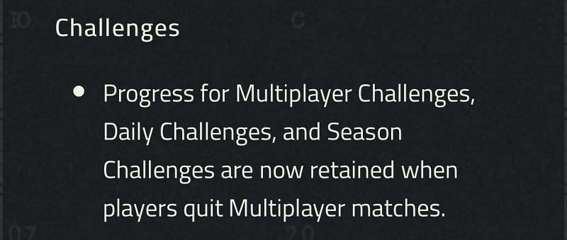The controversial patch note that has raised eyebrows in the Black Ops community (image via Activision)