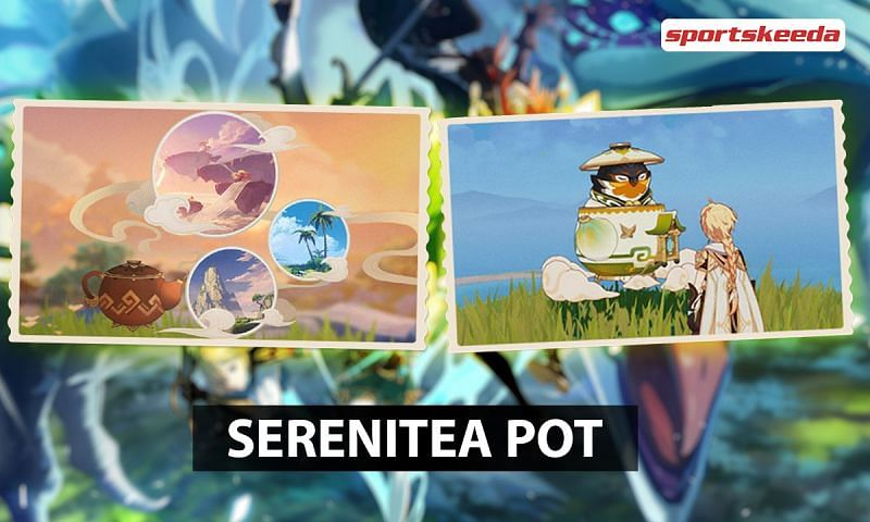 Serenitea Pot in Genshin Impact