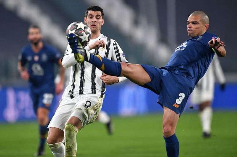 Pepe in action