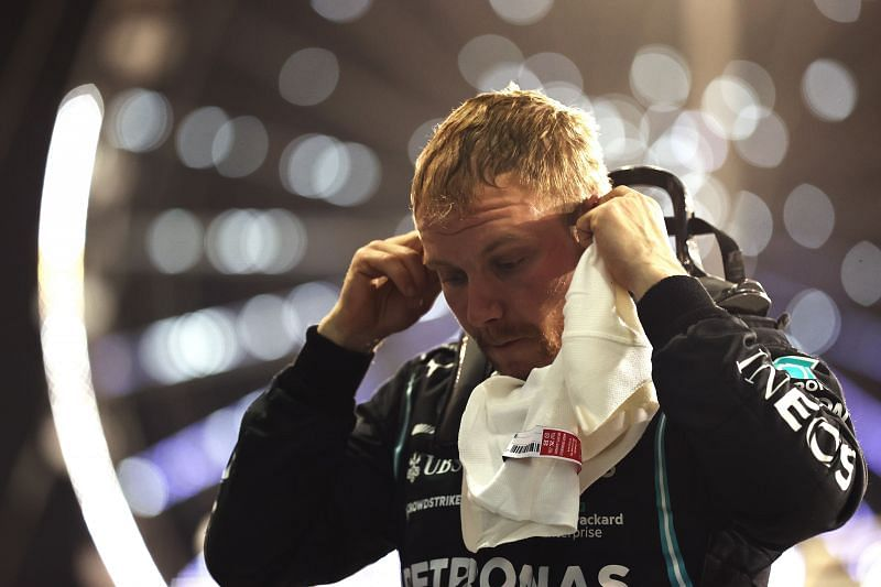 Valtteri Bottas felt his strategy during the Bahrain Grand Prix was not optimal. Photo: Lars Baron/ Getty Images.