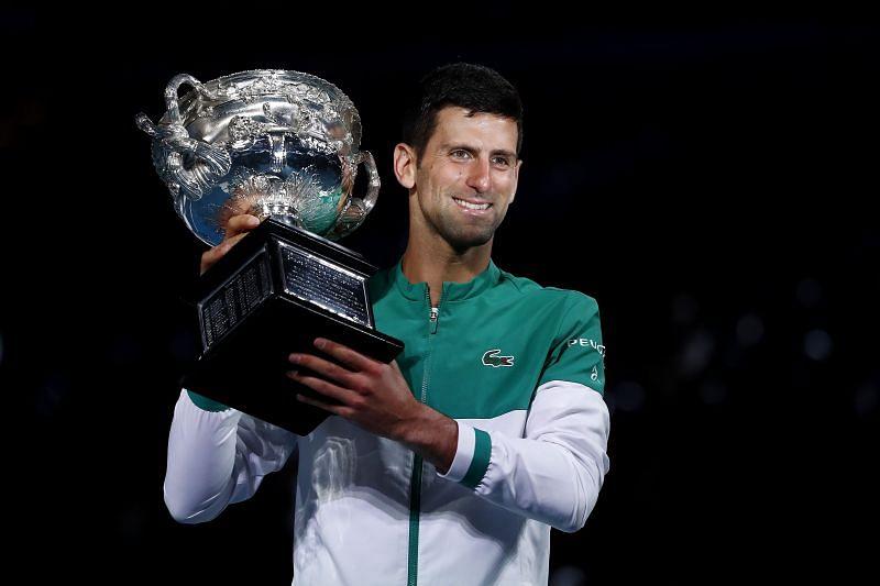 Novak Djokovic won this year