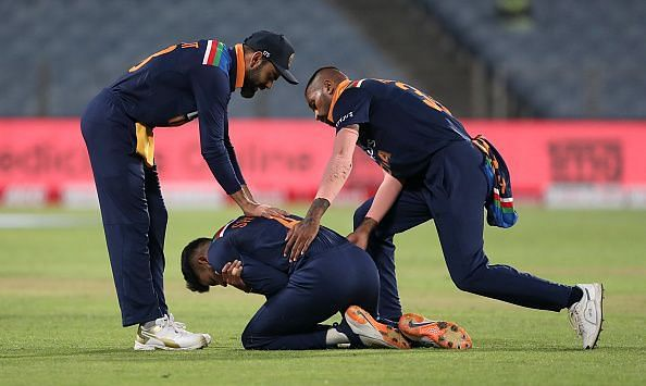 Shreyas Iyer dislocated his shoulder in the India v England series