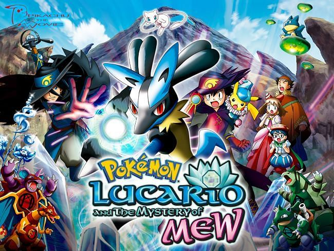Lucario and the Mystery of Mew movie art (Image via The Pokemon Company)
