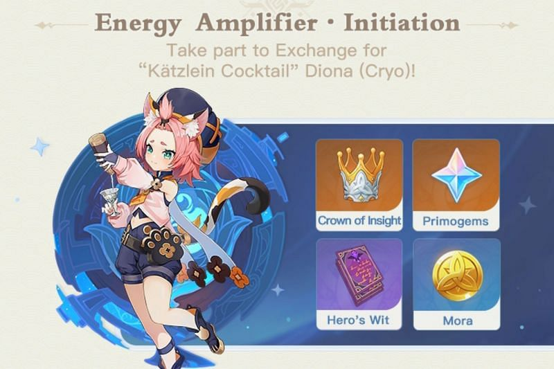 Players can obtain a free Diona in Genshin Impact 1.5 (Image via miHoYo)