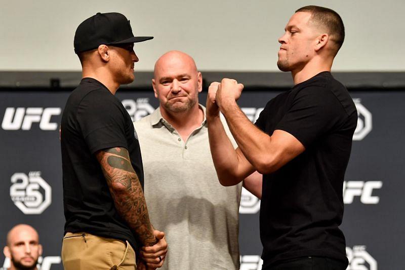 Nate Diaz has yet to fight Dustin Poirier despite their surprisingly respectful rivalry.