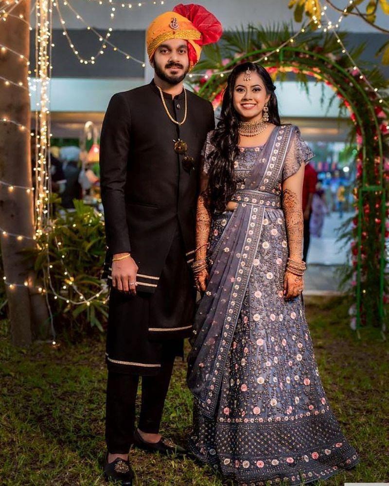 Vijay Shankar's with wife Vaishali Visweswaran in marriage rituals