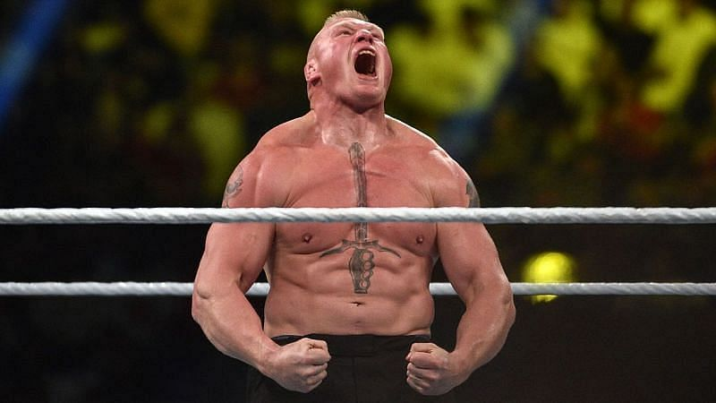 WWE दिग्गज ब्रॉक लैसनर
