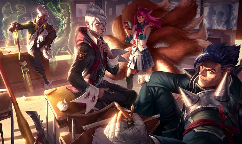 Academy Ahri featured in League of Legends