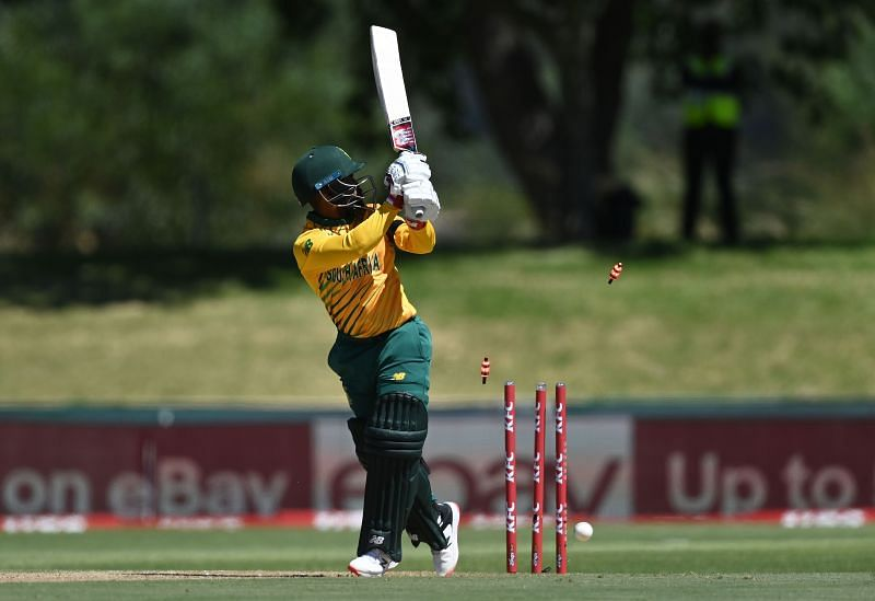 Temba Bavuma was dismissed for 1 in the first ODI against Pakistan