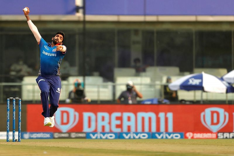 Although he missed out on wickets, Jasprit Bumrah was near his best with the ball.