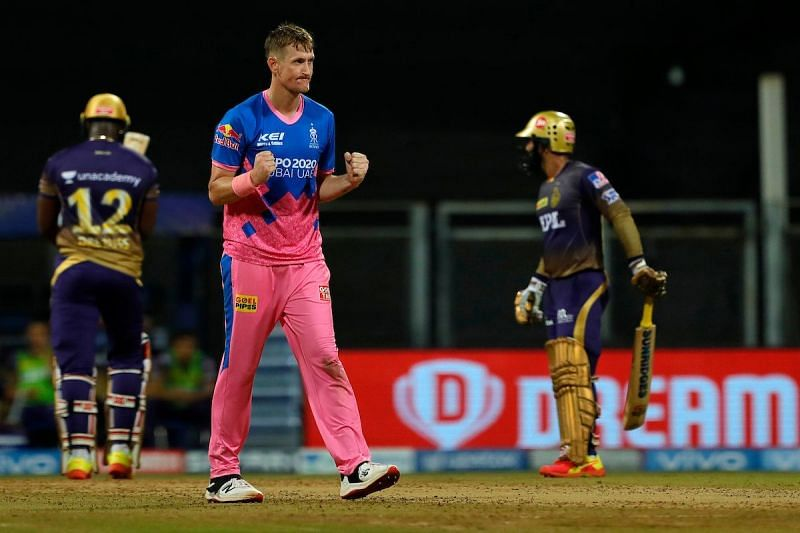 Chris Morris logged the fourth-best bowling figures in IPL 2021 [Credits: IPL]