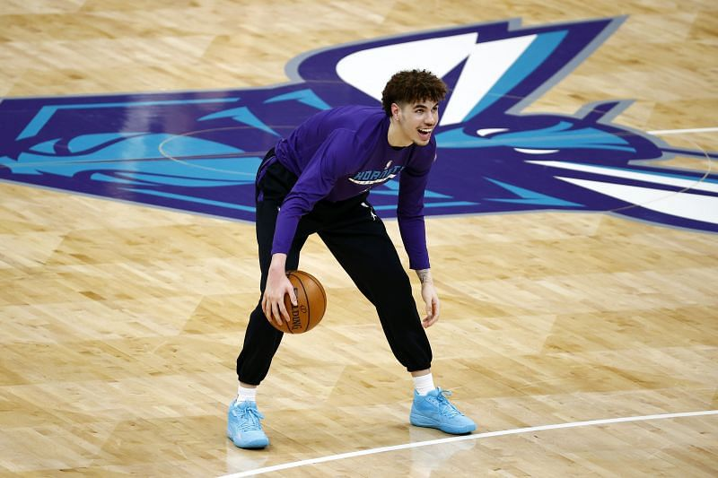 Charlotte Hornets rookie LaMelo Ball.