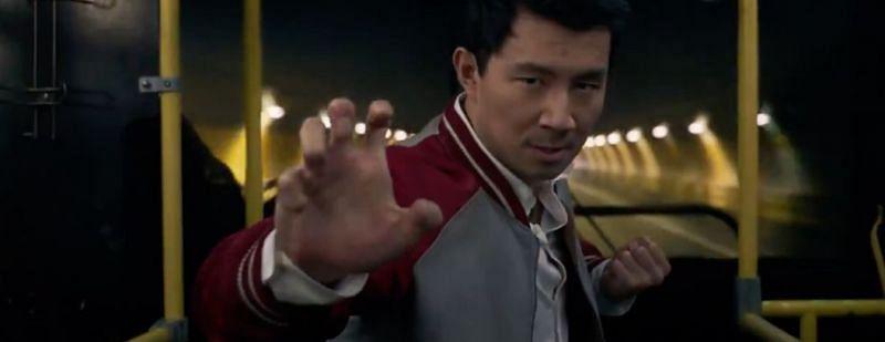 Simu Liu as Shang-Chi {Image via Marvel Studios}