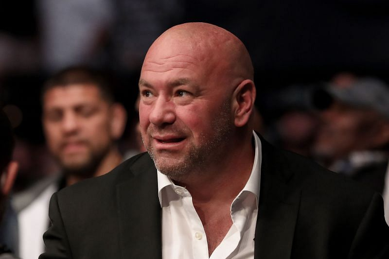 Dana White at UFC 261