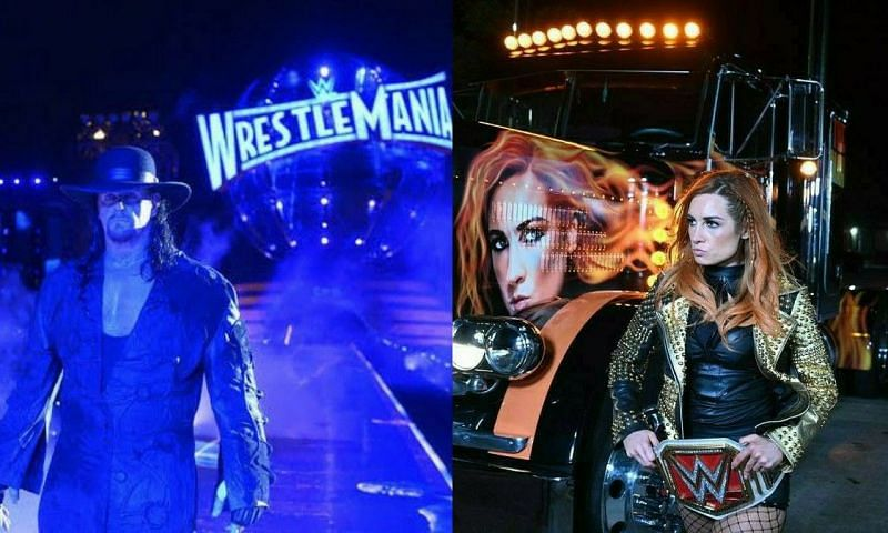 The Undertaker and Becky Lynch