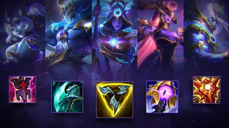 Enchanter support items to get significant adjustments in League of Legends patch 11.8 (Image via Mobalytics)