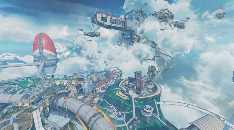 Apex Legends Season 9 Legacy brings huge changes to Olympus that was first introduced to players in Season 7 (Image via Electronic Arts)
