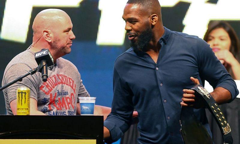 UFC President Dana White and Jon Jones are currently at odds over Jones