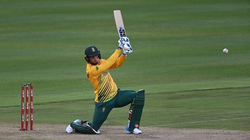 Rassie van der Dussen was the star for South Africa.