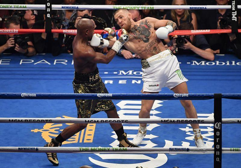 Floyd Mayweather Jr. vs. UFC star Conor McGregor