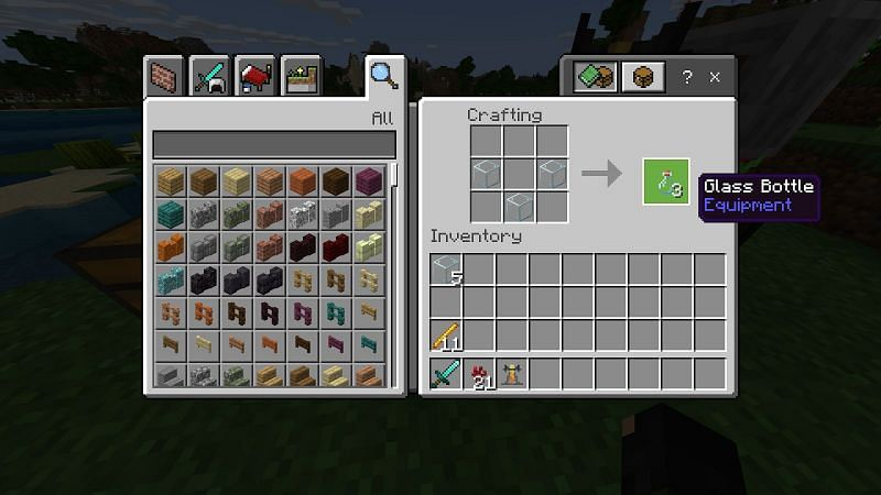 While you are here make some sugar out of sugarcane by placing sugarcane in your crafting menu.