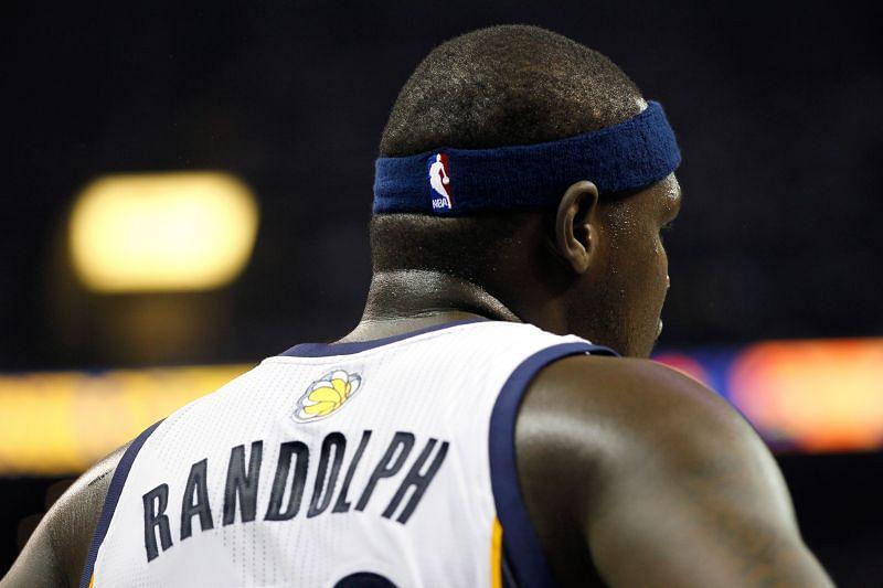 Zach Randolph #50 of the Memphis Grizzlies during the 2011 NBA Playoffs.