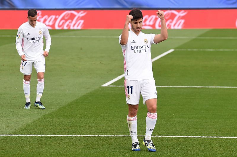 Marco Asensio scored Real Madrid