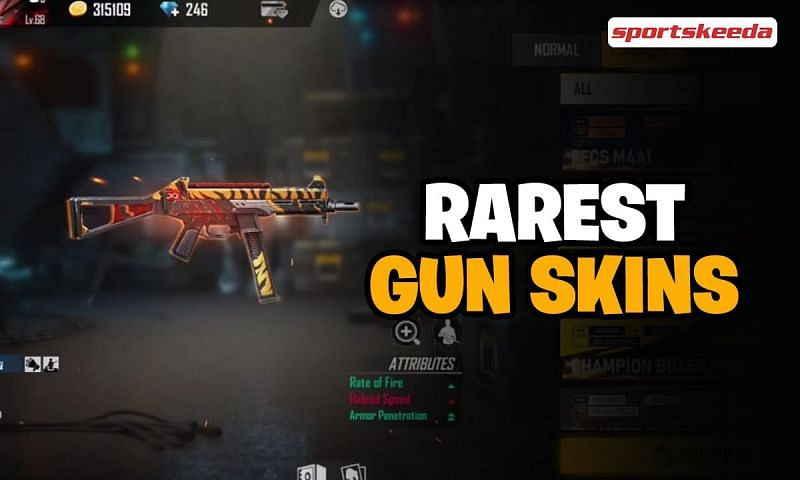 There are many gun skins available in Free Fire as of April 2021