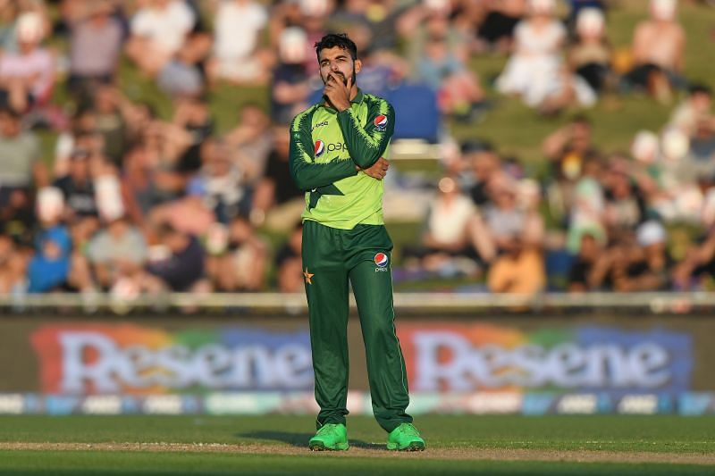 Shadab Khan injured his toe during the second match of the ICC Cricket World Cup Super League series against South Africa