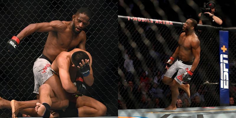 Neil Magny (left) and Geoff Neal (right)