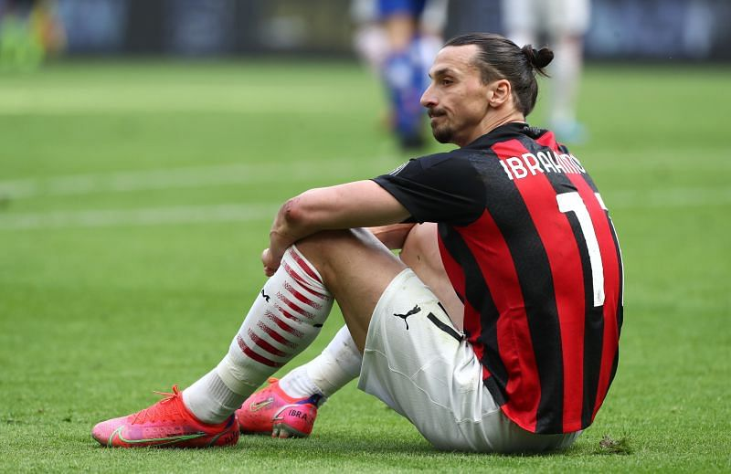 Zlatan Ibrahimovic is suspended for AC Milan