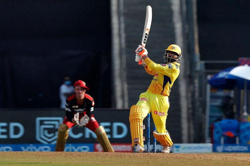 Ravindra Jadeja of the Chennai Super Kings