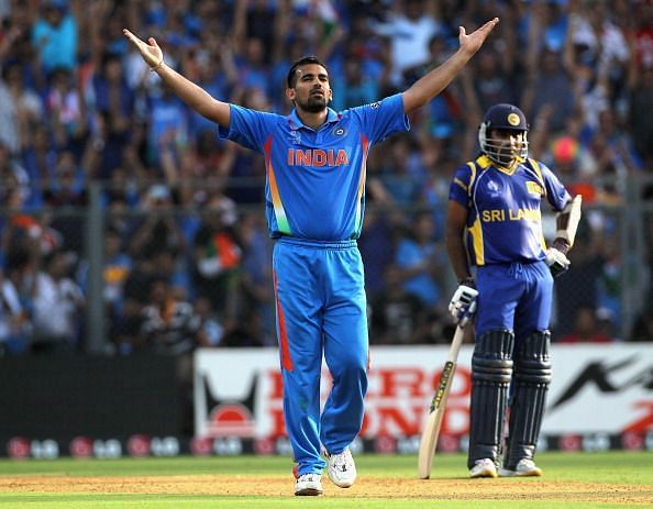 Zaheer Khan was the joint-highest wicket-taker in the 2011 World Cup