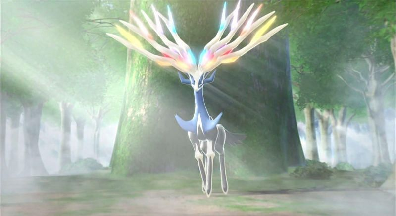 Xerneas will be in 5-star raids starting on May 4th (Image via Game Freak)