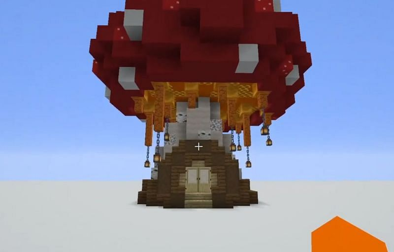 Shown: A mysterious mushroom base (Image via u/Crept303 on Reddit)