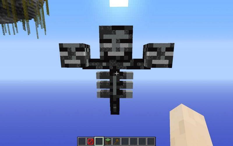 Wither Minecraft (Image via Minecraft-schematic)