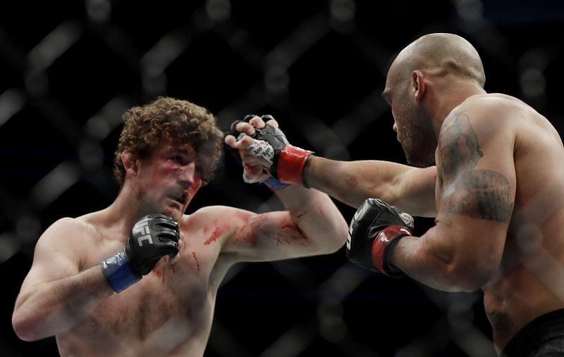 UFC 235 Ben Askren in action