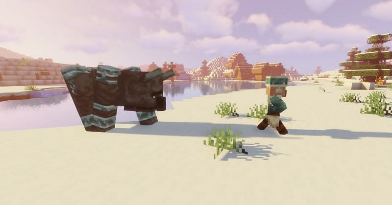 Shown: A Villager running for their life! (Image via Minecraft)